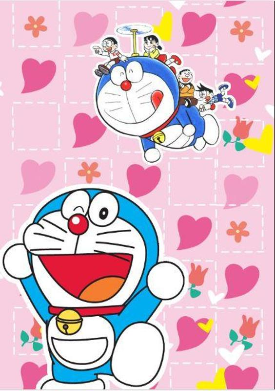 Unduh 65 Wallpaper Hp Doraemon Pink HD Gratid