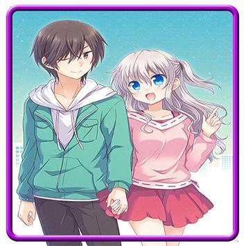 Wallpaper Charlotte Anime Plakat