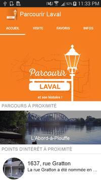 Parcourir Laval poster