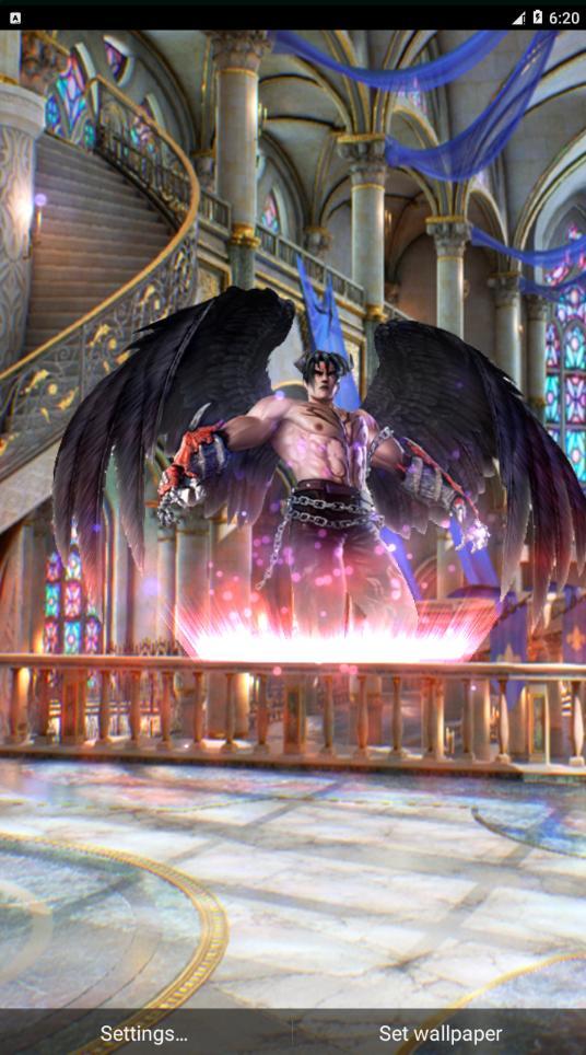 tekken blood vengeance devil jin wallpapers