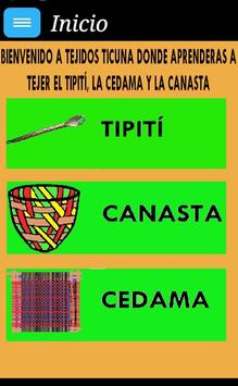 Tejidos Ticuna poster