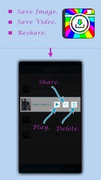 Insta Downloader apk screenshot
