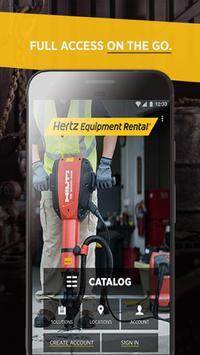 Hertz Equipment Rental poster