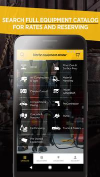 Hertz Equipment Rental apk screenshot