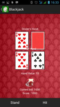 POWER BLACK JACK apk screenshot