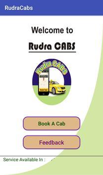 Rudra Cabs screenshot 1
