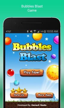 Bubbles Blast poster