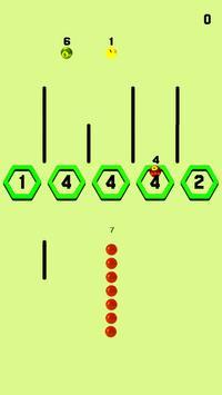 Snake vs Hexa Brick screenshot 1