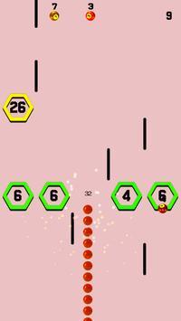 Snake vs Hexa Brick screenshot 2