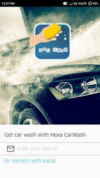 Hexa CarWash poster