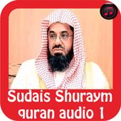 Sudais Shuraym Quran Audio icon