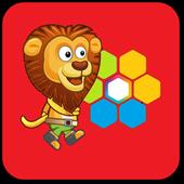 Lion Hexa Puzzle icon