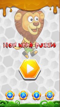 Lion Hexa Puzzle poster