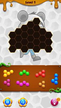 Panda Hexa Puzzle screenshot 3