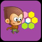 Monkey Hexa Puzzle icon