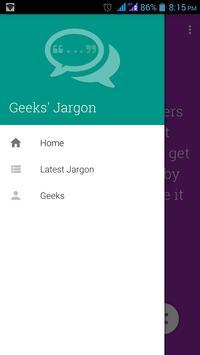Geeksjargon poster