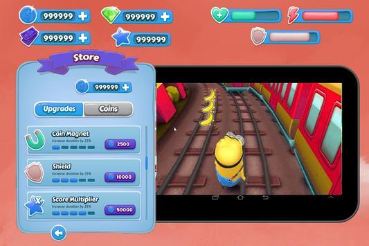 Subway banana surf screenshot 5