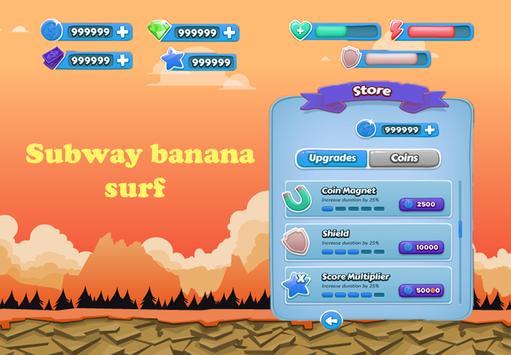Subway banana surf screenshot 8