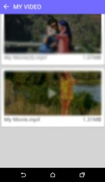 حول صورك إلى فيديو بالصوت screenshot 5
