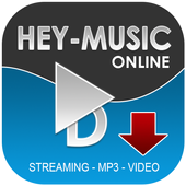 Hey-Music streaming icon
