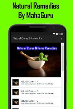 Natural Cures And Home Remedies screenshot 1