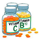 Vital Vitamin And  Nutrients icon