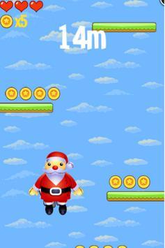 Santa Jump- Christmas Edition poster