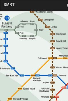 SINGAPORE MRT & BUS MAP screenshot 2