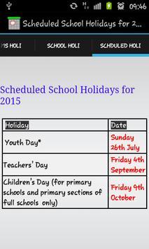 Singapore Holiday 2015 apk screenshot
