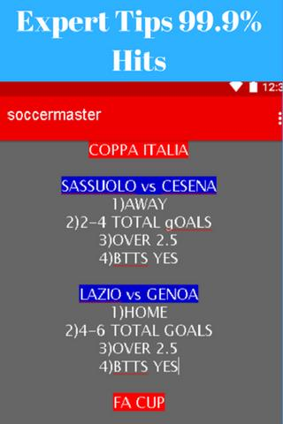 Expert Soccer Predictions Tips for Android - APK Download