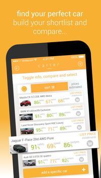 Carter - New Car Buying App poster
