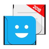 One SMS, MMS - New Emoji, Sticker GIF icon