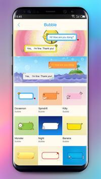 One SMS, MMS - New Emoji, Sticker GIF apk screenshot