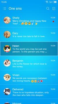 Blue Ding - One Sms screenshot 1
