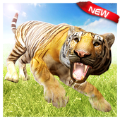 Tiger Simulator : Tiger Games icon