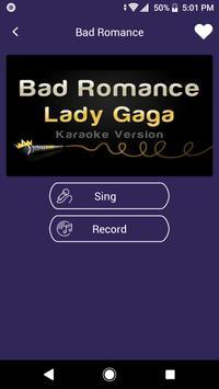 Karaoke Sing : Record screenshot 1