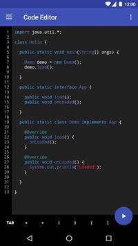 Code Editor poster