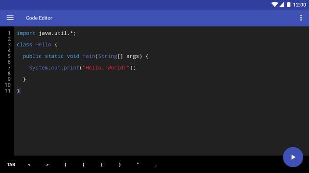 Code Editor screenshot 5
