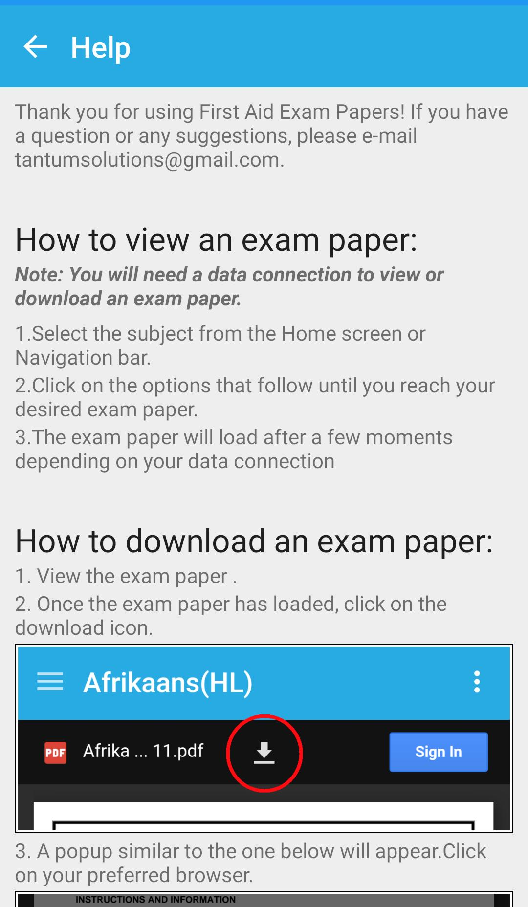 First Aid Exam Papers for Android - APK Download