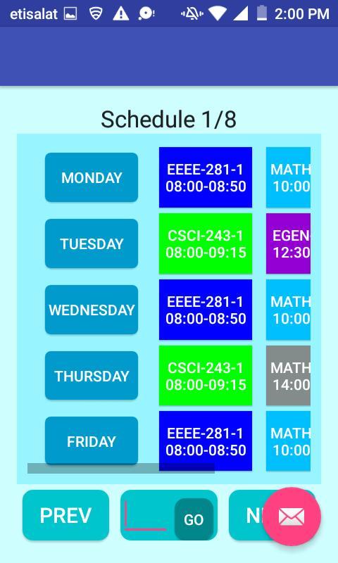 Class Schedule Creator Pro APK تحميل - مجاني الإنتاجية تطبيق ...