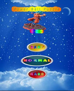 Goku Power Ball Game poster