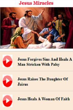 Jesus Miracles poster