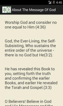 The Message of God apk screenshot