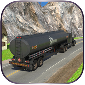 Offroad Oil Tanker Cargo Truck icon