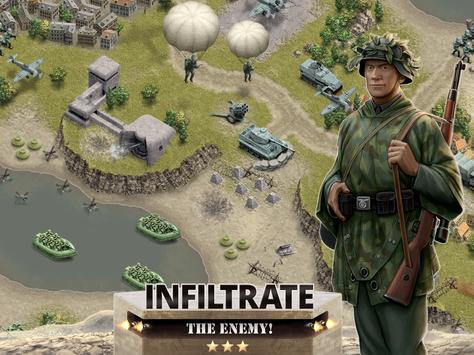 1944 Burning Bridges - a WW2 Strategy War Game screenshot 14