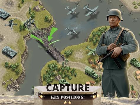 1944 Burning Bridges - a WW2 Strategy War Game screenshot 7