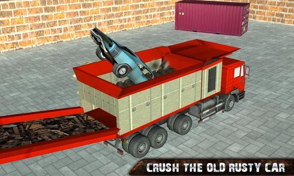 Car Crusher JunkYard poster