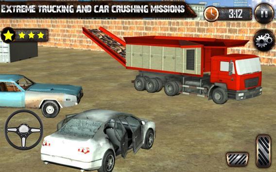 Car Crusher JunkYard apk screenshot
