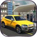 Electric Taxi Car Simulator 3D