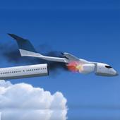 Fly Flight Crash Survival icon
